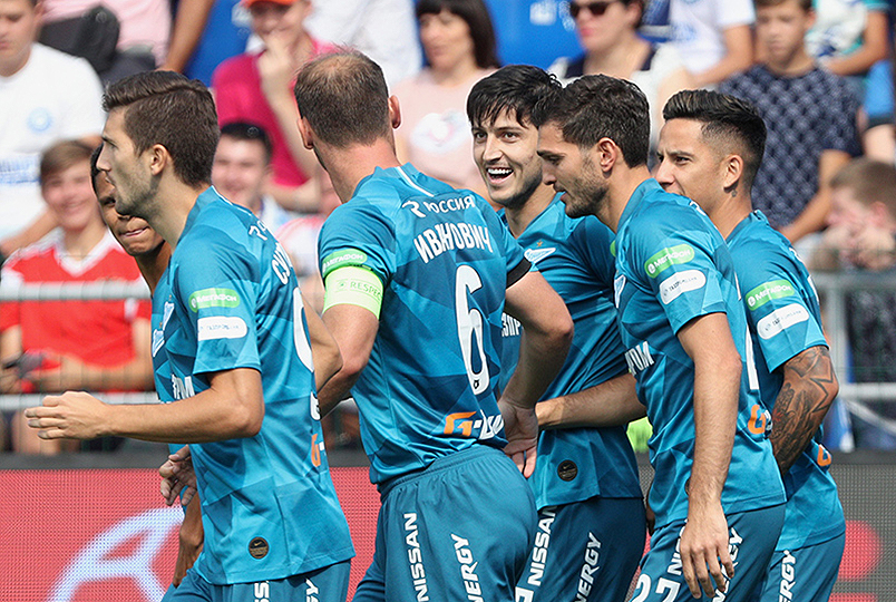 Zenit win in Orenburg