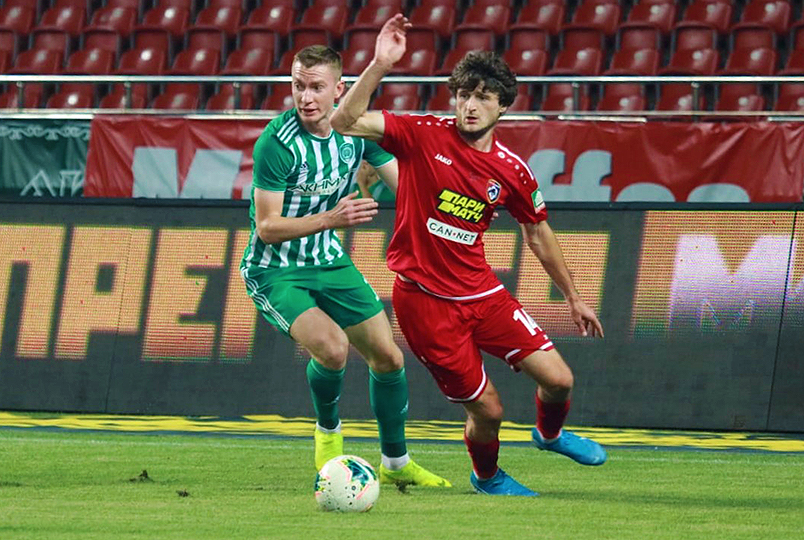 Akhmat and Tambov play in a draw