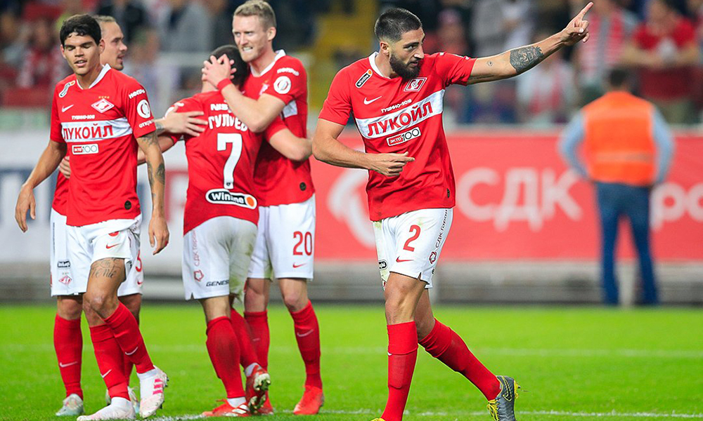 Gigot bring win to Spartak in the main derby of Russia