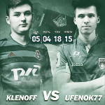 «KLENOFF» VS «UFENOK77» at the Cup of Russia match