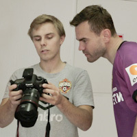 """Sometimes the players take the camera and shoot each other."" How the CSKA photographer shoots matches"