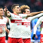 Bakaev brilliance sparks Spartak derby win over Dynamo