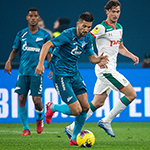 Zenit drop points for only second time since September in goalless Lokomotiv draw