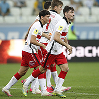 Bakaev penalty enough for Spartak to beat Rotor