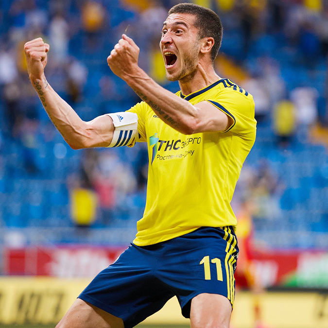 Mamaev and Ionov help Rostov's returning first team to win over Arsenal