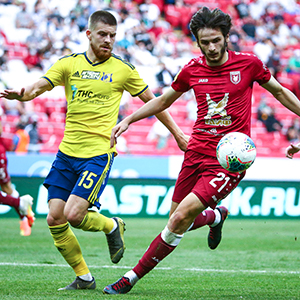 Honours even between Rubin and Rostov